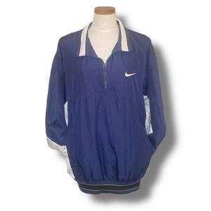 Nike Vintage Quarter Zip Pullover Windbreaker XL